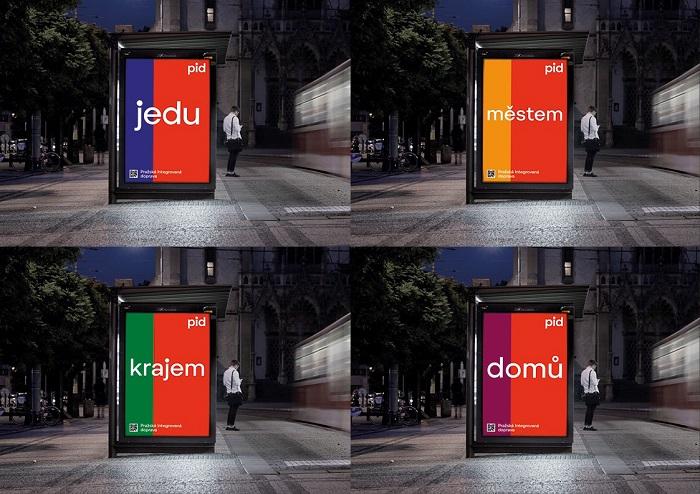 Pražský dopravní systém PID má novou vizuální identitu